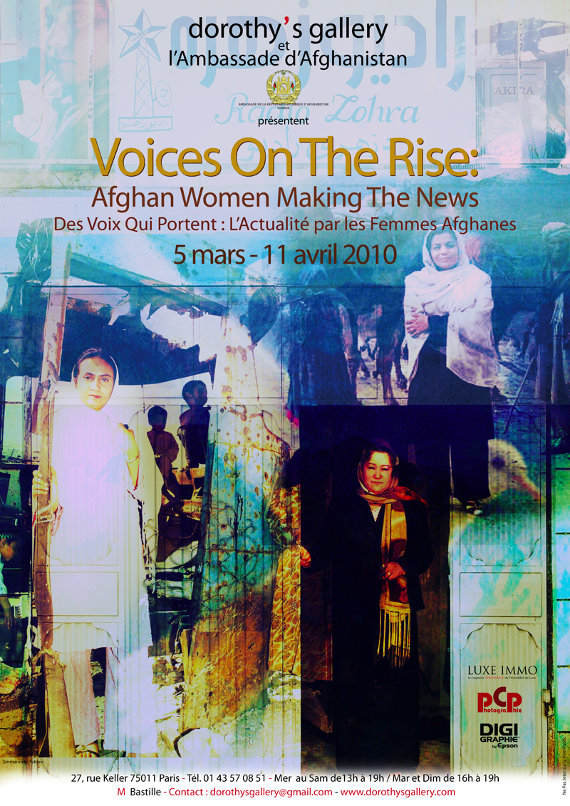 Voices on the Rise : Afghan Women Making the News