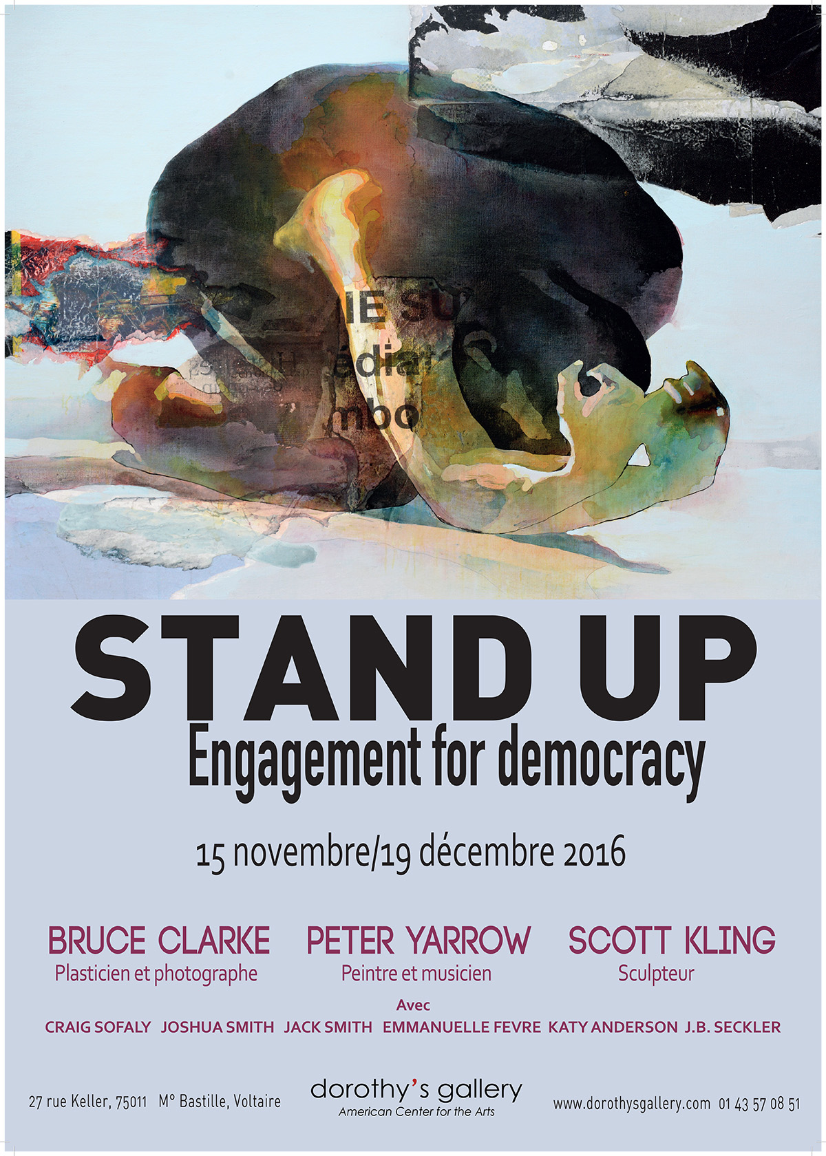 Stand Up Engagement for democracy