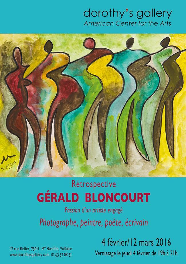 Retrospective Gérald Bloncourt