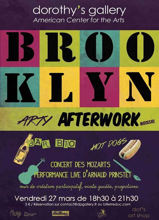 Brooklyn Arty Afterwork